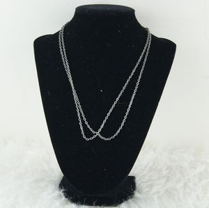 ⭕ [MUST BUNDLE] Two Silver Chain Necklaces